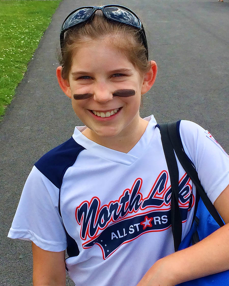 Bridget Pitches No-hitter During All-Star Game!