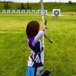 Elena Wins 1st in Archery Tournament - Elena Cook
