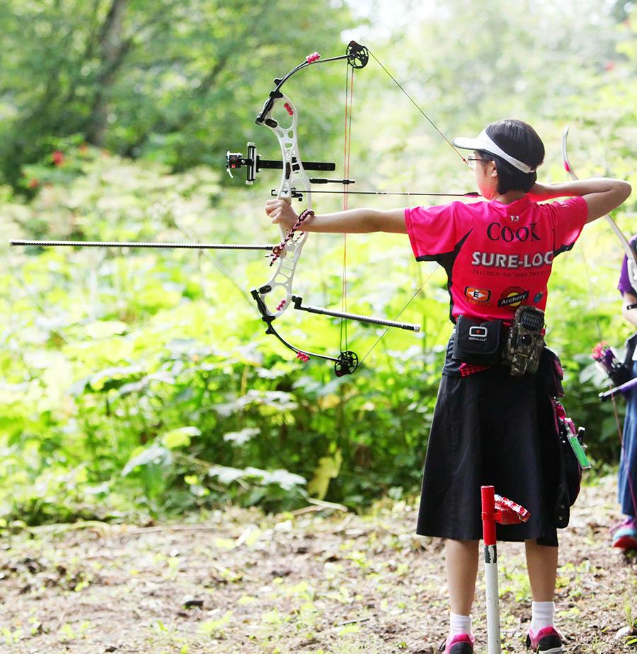 Kira Wins State Archery Contest!