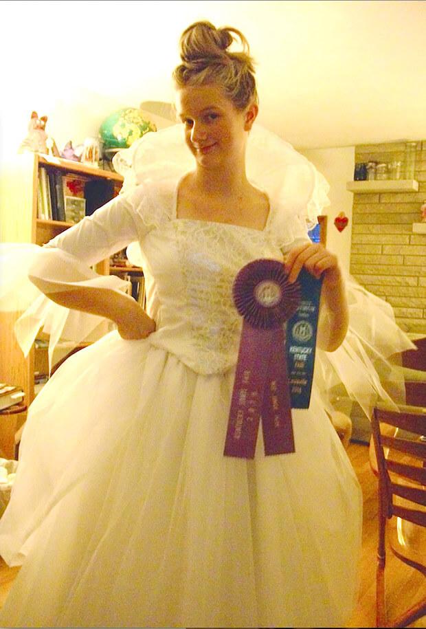 Ingrid Wins Several Awards at Kentucky State Fair
