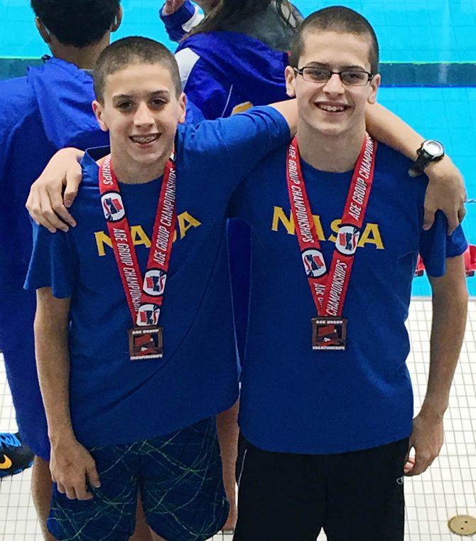 Nicholas Named Runner-up in Swim Championship