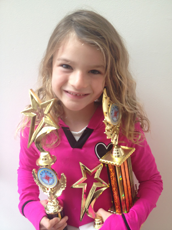 Alexandra Wins 2nd Place At Annual Mandarin Speaking Contest