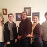 Ruba Family Hosts Jesse & Anita Romero