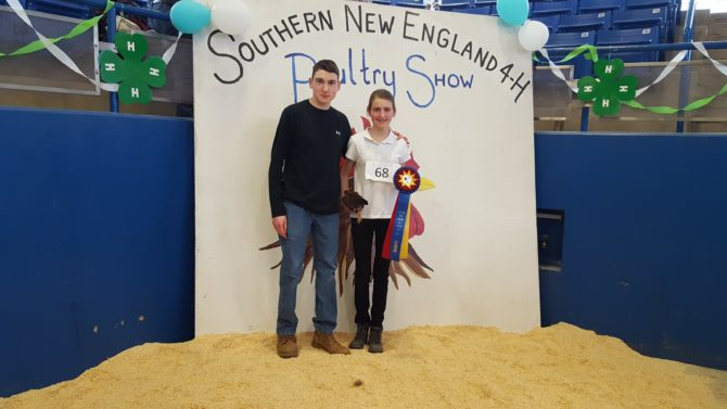 Rachel Named Grand Champion Junior Showmanship