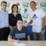 Alex Joins Miner's Swim Team This Fall