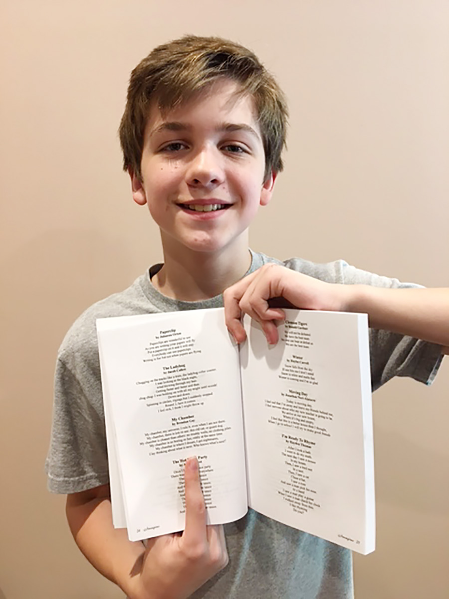 Brendan's Poem, My Chamber, Gets Published
