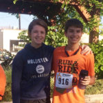 John places 8th in Running Competition