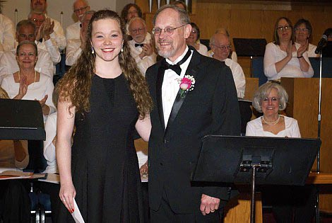 Grace Receives Music Scholarship