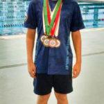 Thomas Qualifies for Swimming Championship