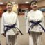 Anthony and Giuseppe Earn Martial Arts Purple Belts