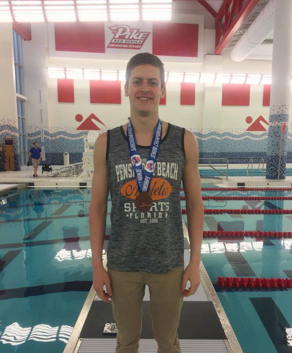 Nicholas Wins Indiana State Swimming Championship
