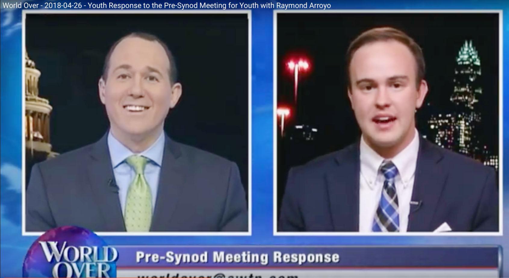 Seton Grad Interviewed on World Over Live on EWTN