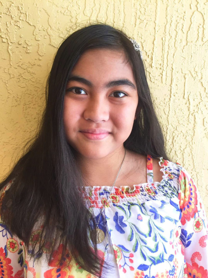 Julia Wins 1st Place in National Writing Contest