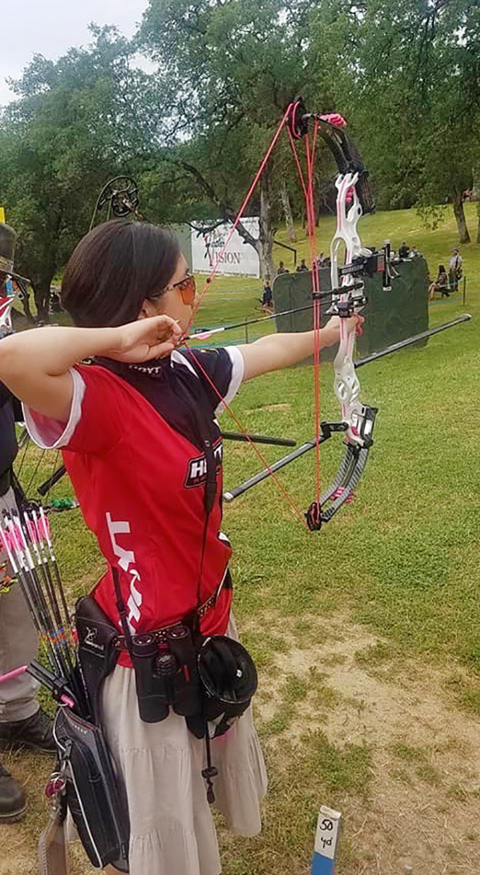 Kira Wins for Alaska in Major Archery Tournaments
