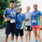 Dad Trains Seton Siblings for ZOE P.O.W.E.R. 5K