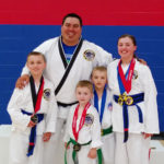 Seton Siblings Bring Home Medals in Forms and Sparring