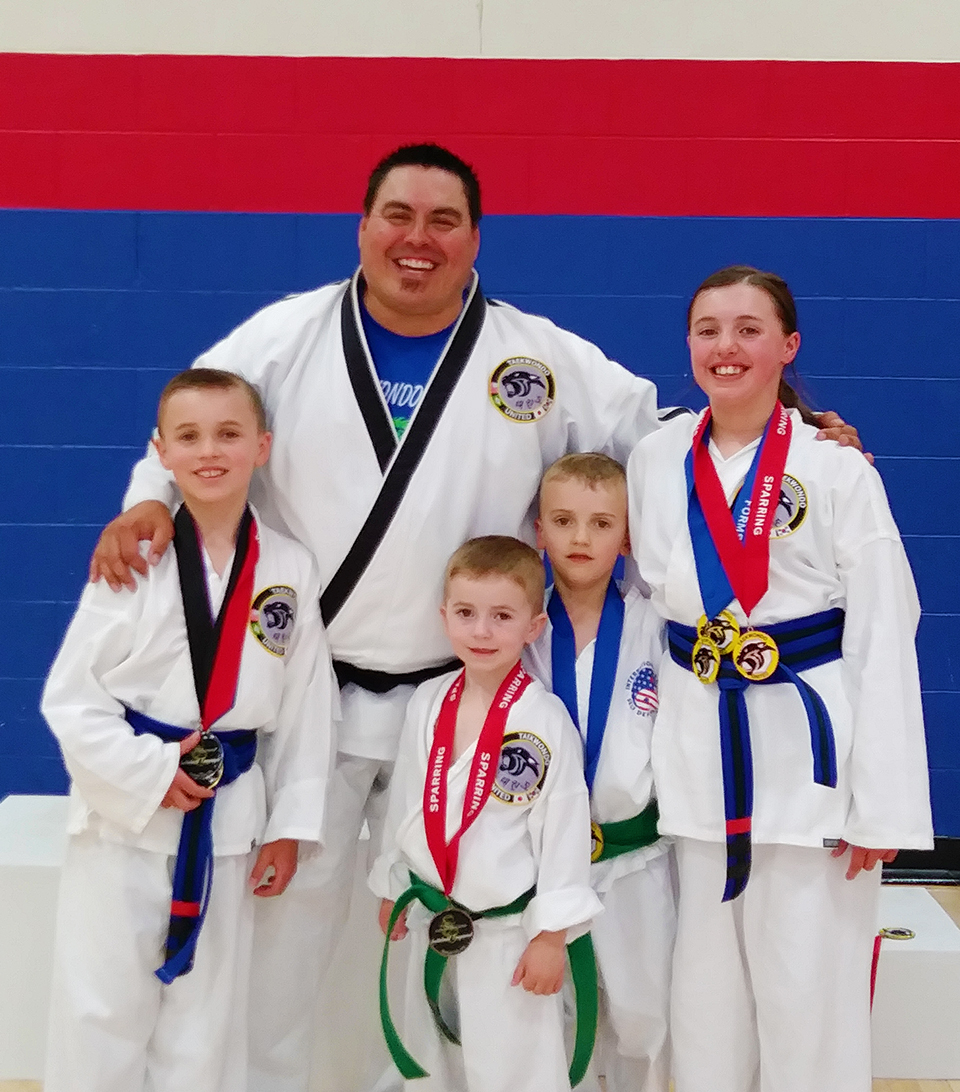 Seton Siblings Win Medals in Forms and Sparring