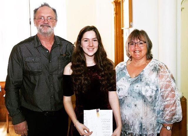 Lucie's Opera Brings Home Silver in Music Competition