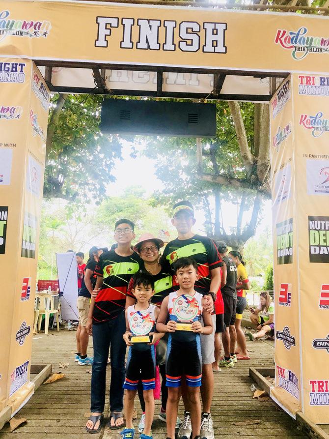 Habana Bros Race Together in the Kadayawan Triathlon