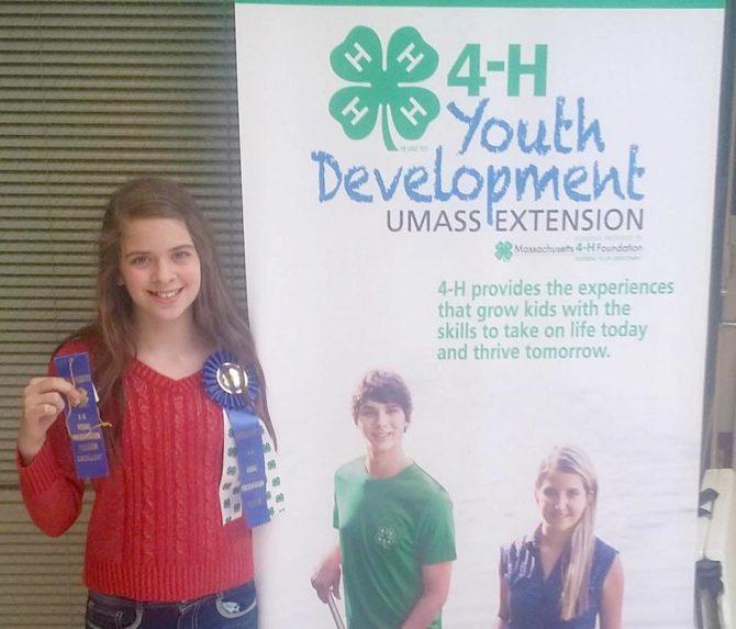 Bernadette's Presentation Wins 1st Prize at State