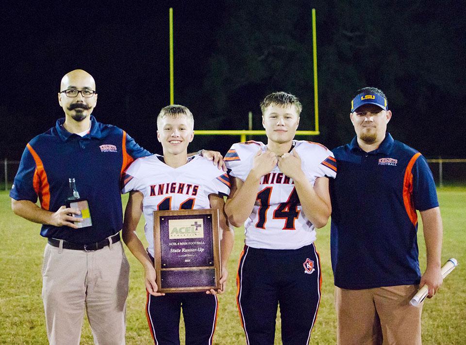 Luke and Elijah's Team Wins State Runner-Up