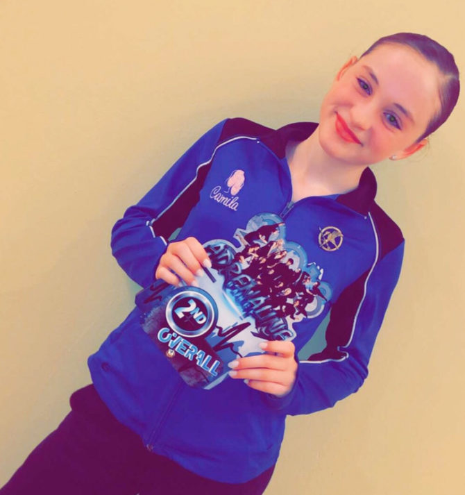 Her Solo Dance Win Sends Camilia to Nationals