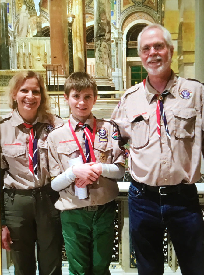 Ryan Recognized by Scouts With Ad Altare Dei Award