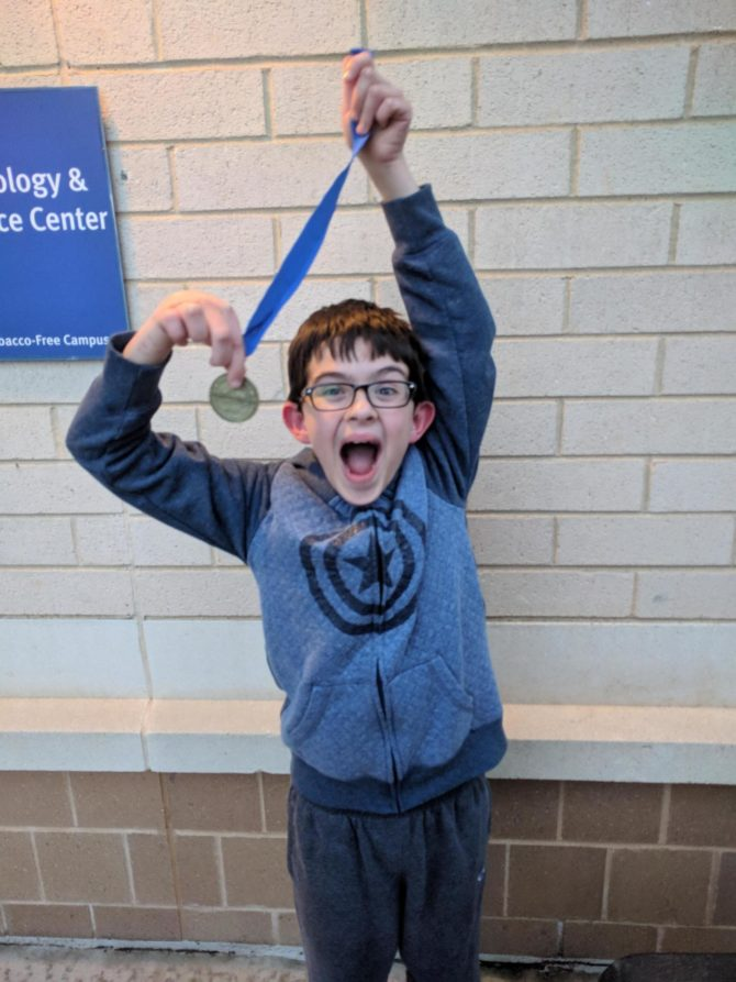 Henry Wins 1st Place in Code Ninjas Olympiad