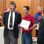 Hugh Gowans VFW award