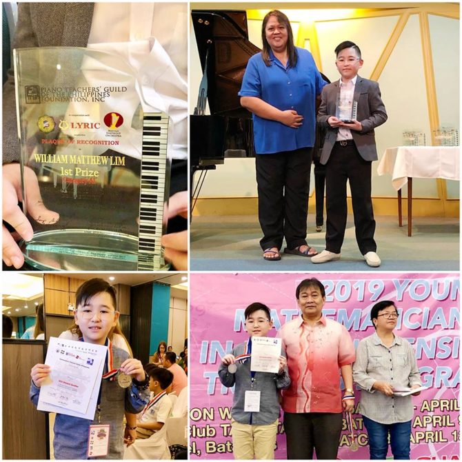 William Matthew – Philippines Piano and Math Champion