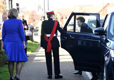 As Lord Lieutenant Cadet, Élodie Serves on Royal Visit