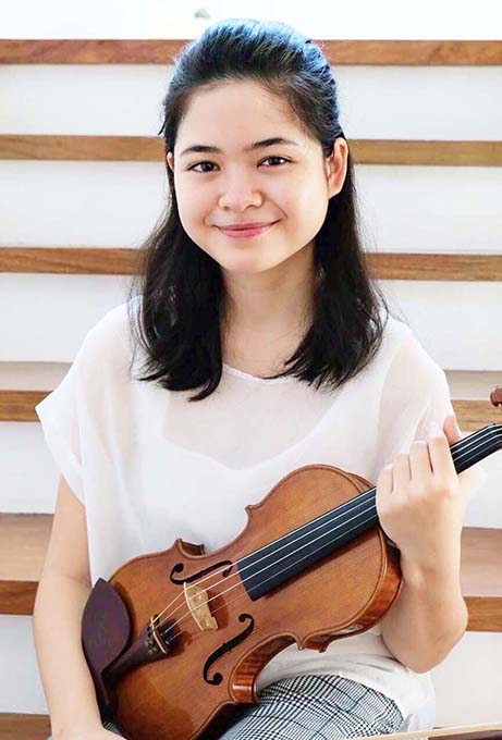Ashley on to Semi-finals in National Music Competition