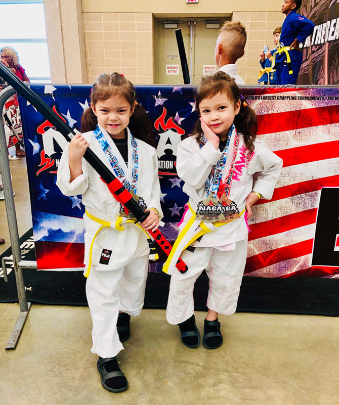 Sisters Lira and Isa Win in Jiu-Jitsu Tournament