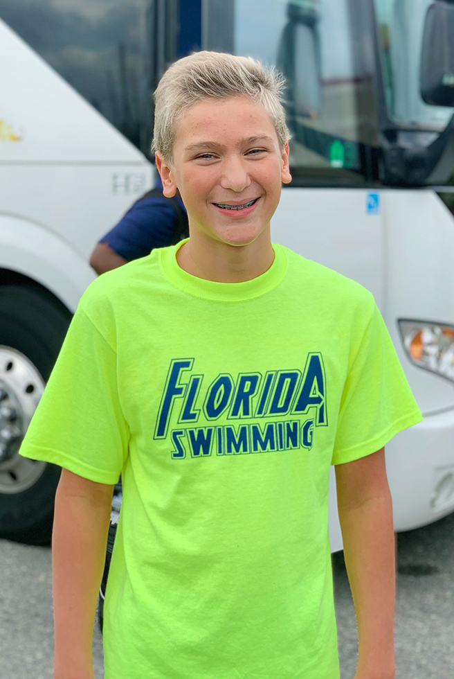 Florida Swimming Selects Thomas for Championships