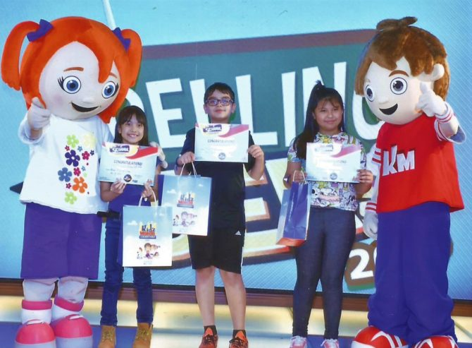 Ana Competes in KidsMondo Doha Spelling Bee