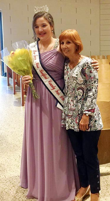 Anna Wins First Place in Pageant, Earns Title