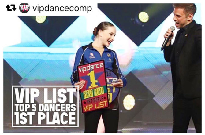Camila Dances to 1st Place in VIP Dance Competition