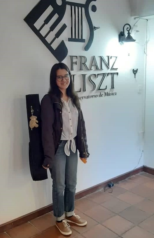 Maria Accepted to Franz Liszt Conservatory