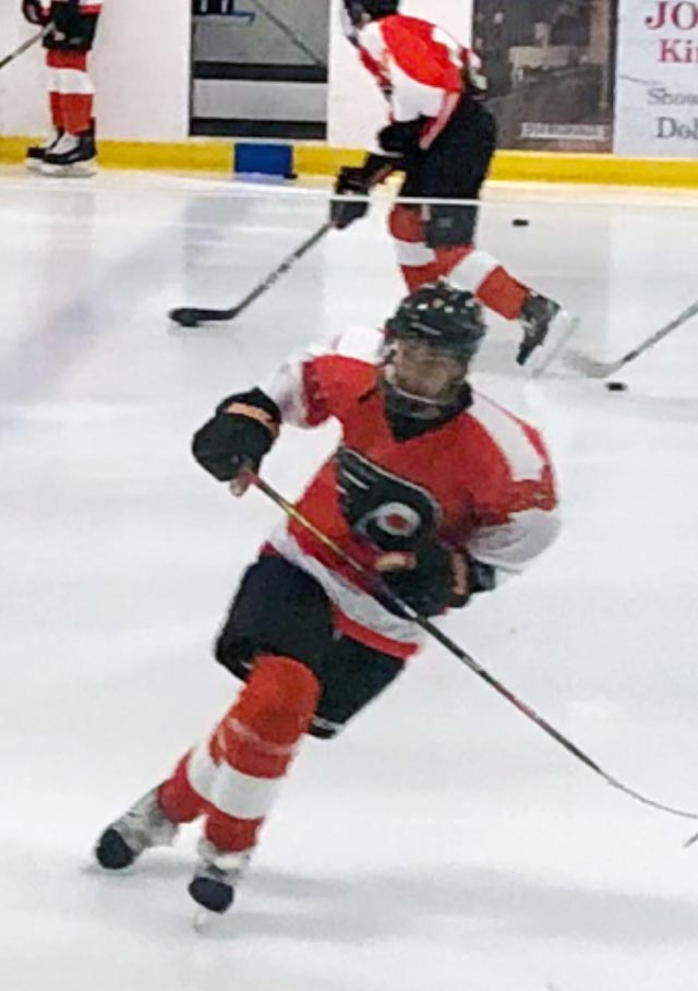 Owen Skates His Way to the Philadelphia Little Flyers