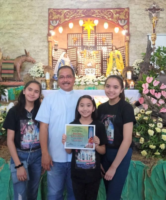 Music by Dizon Family Raises Funds for Parish