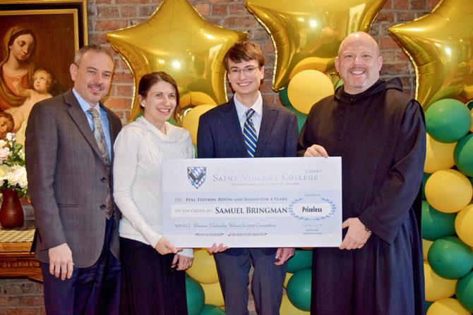Samuel Named Top Winner Saint Vincent Scholarship