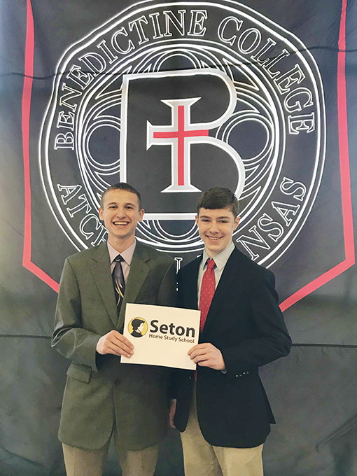 Matthew and Edmund Qualify for Scholarship Competition