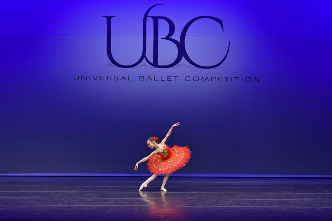 Lillian, Youngest Competitor Universal Ballet Competition