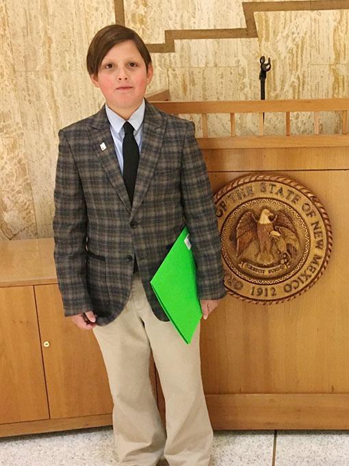 Trevor Meets NM Senator Shares Best 4-H Memories