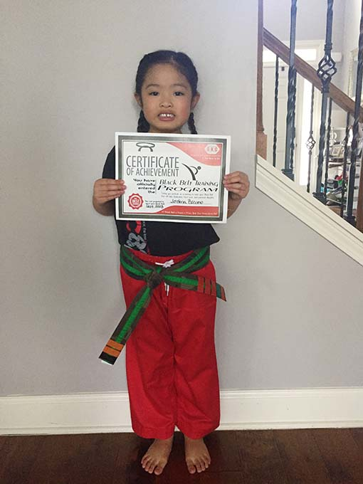Jordana Invited to Black Belt Training Program