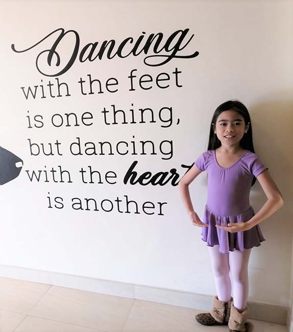 Maxene Completes Her Classical Ballet Exam
