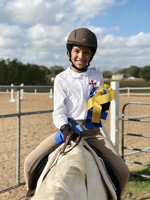 Samarah Grand Champion in the English Horseback