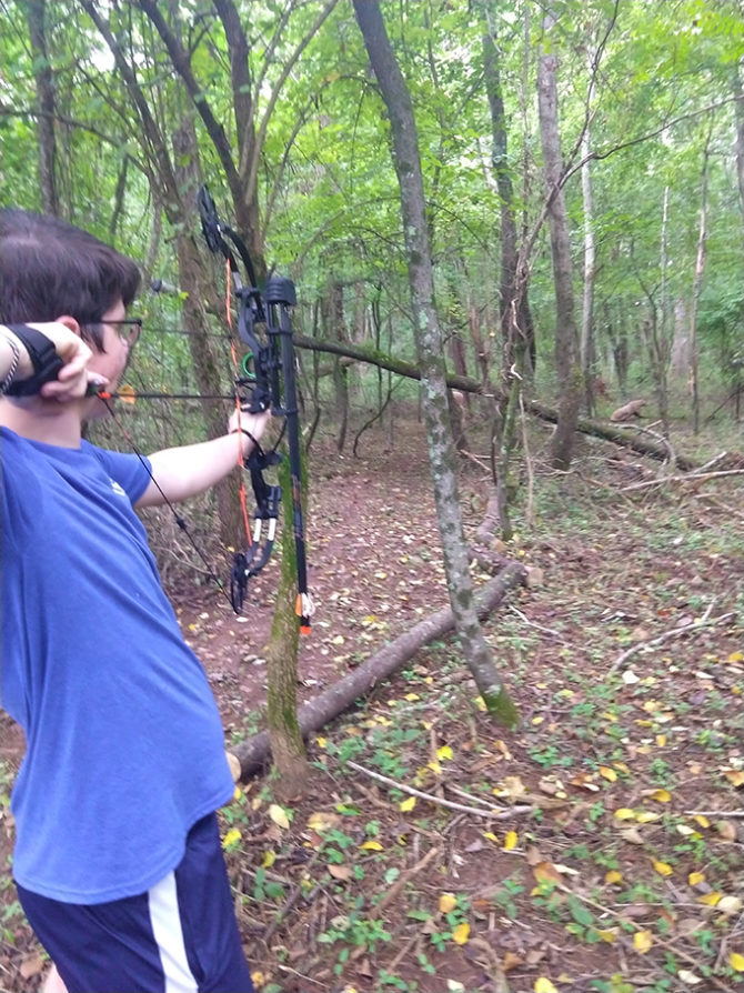 John Competes in 4-H Shooting Sports Teams