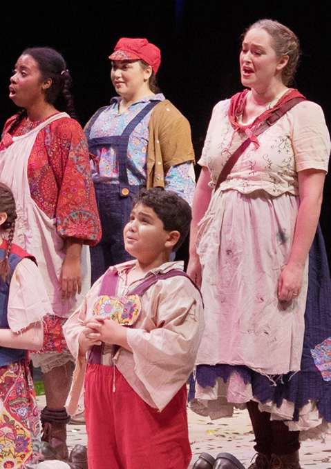 Cooper On Stage in Hansel and Gretel Opera