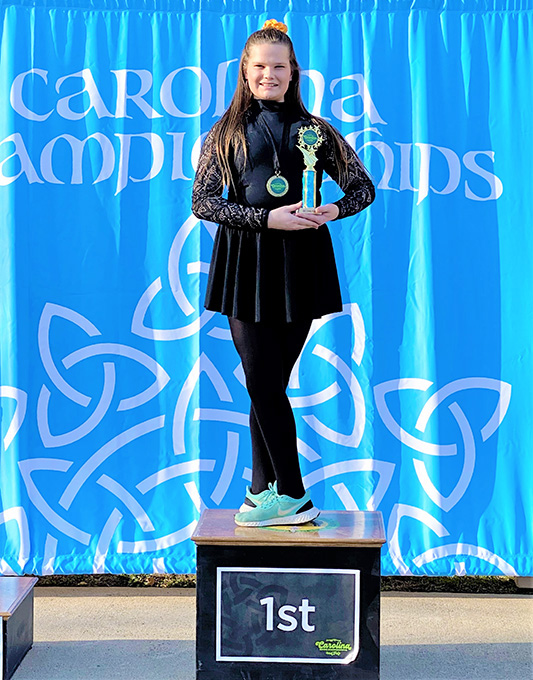Practice and Prayer Key to Feis Wins for Clara